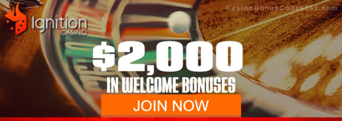 Ignition Casino $2000 Welcome Bonus