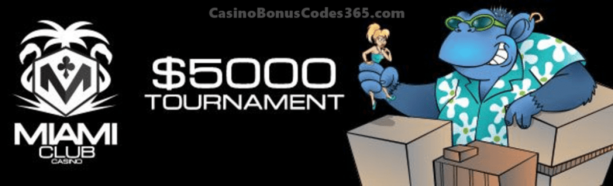 Miami Club Casino $5000 January Month Long Tournament WGS Cool Bananas