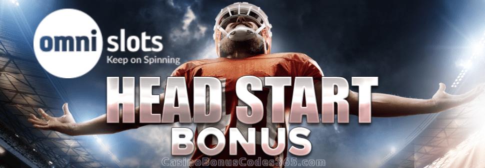 Omni Slots 2019 New Year Head Start Bonus