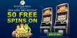 Platinum Reels Exclusive 50 FREE RTG Aladdin's Wishes Spins