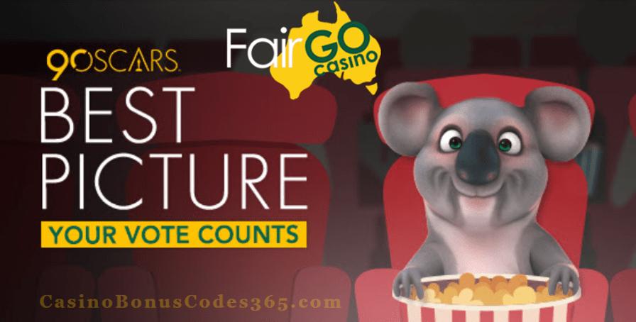Fair Go Casino Oscars Best Picture Promo