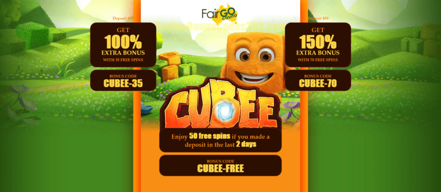 Fair Go Casino New RTG Game Cubee Bonuses and FREE Spins