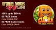 Grande Vegas Casino Cubee 150% Bonus plus 100 FREE Spins New Game Offer