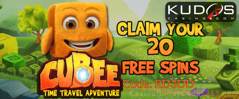 Kudos Casino New RTG Game 20 FREE Cubee Spins