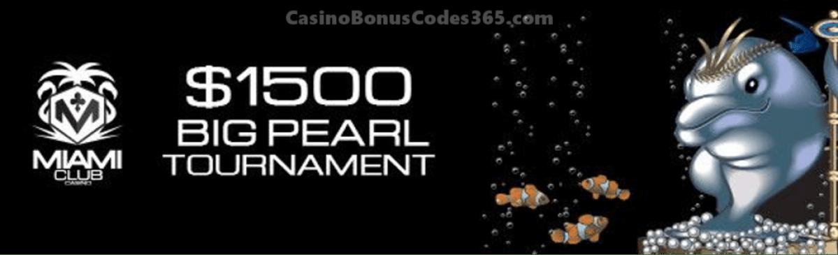 Miami Club Casino $1500 Big Pearl Tournament WGS Dolphine King