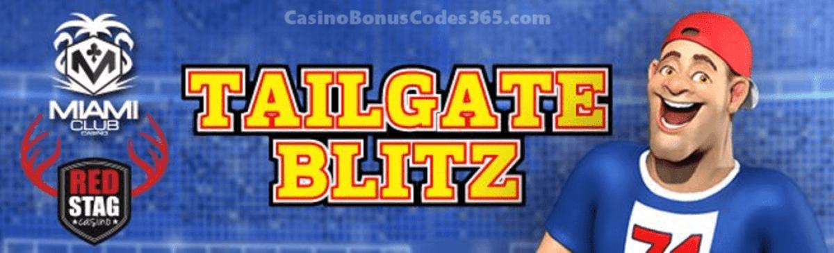 Miami Club Casino Red Stag Casino Tailgate Blitz