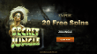 Slots Empire 20 FREE RTG Secret Jungle Spins Exclusive Offer