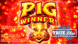 True Blue Casino New RTG Game Pig Winner Special Promo
