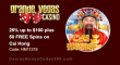 Grande Vegas Casino 25% up to $100 plus 50 FREE Spins RTG Cai Hong Special Offer