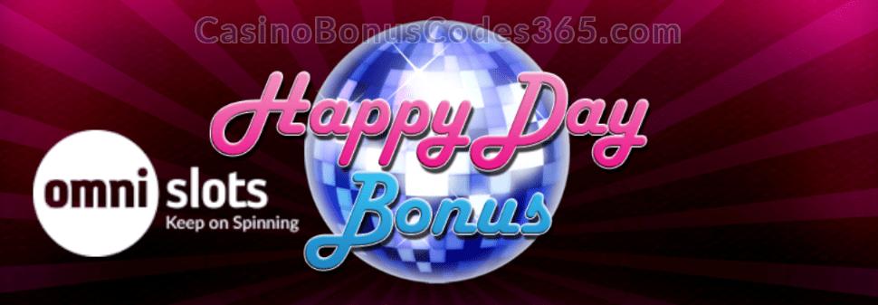 Omni Slots Happy Day Bonus