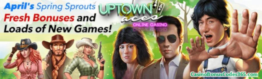 Uptown Aces $150 FREE Chip Spring Bonus Pack