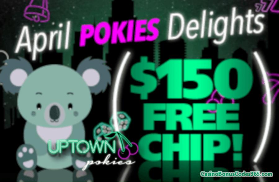 Uptown Pokies April Pokies Delights Bonus Pack