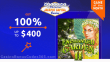 Jackpot Capital April Game of the Month RTG Enchanted Garden II