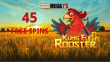 Mega7s Casino 45 FREE Kung Fu Rooster Spins Exclusive Welcome Offer