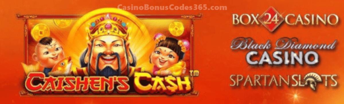 Spartan Slots Box 24 Casino Black Diamond Casino Pragmatic Play Caishens Cash
