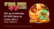 Grande Vegas Casino 25% up to $100 plus 50 FREE Spins on RTG Lucha Libre 2 Special Promo