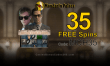 Mandarin Palace Online Casino Exclusive 35 FREE Spins on Saucify Monte Carlo Heist