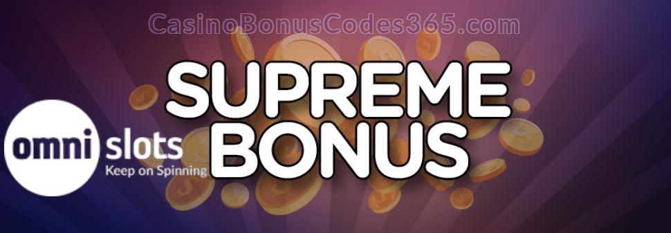 Omni Slots Supreme Bonus