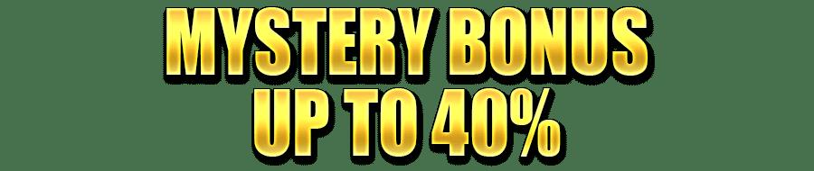 OmniSlots Mystery Bonus up to 40%