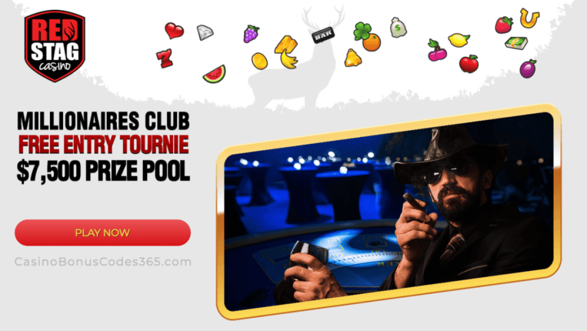 Red Stag Casino WGS May Millionaires Club Tournament $7500 FREEroll WGS Funky Chicken