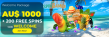 Spin Samba A$1000 Bonus plus 200 FREE Spins RTG Aladdin's Wishes Welcome Pack