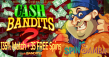 Spin Samba 135% Match plus 35 FREE Spins RTG Cash Bandits Special Promo