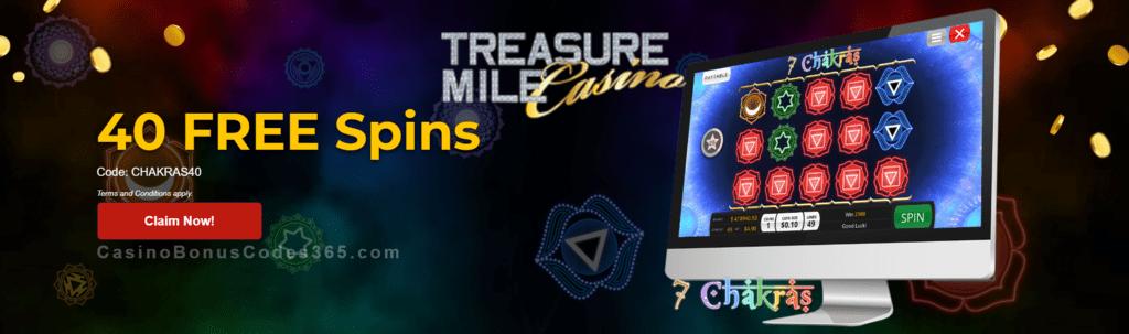 Treasure Mile Casino No Deposit
