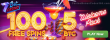 7BitCasino 100% First Deposit Bonus plus 100 FREE Spins