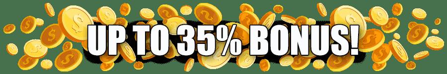 Omni Slots Super Surprise Bonus 35% Match