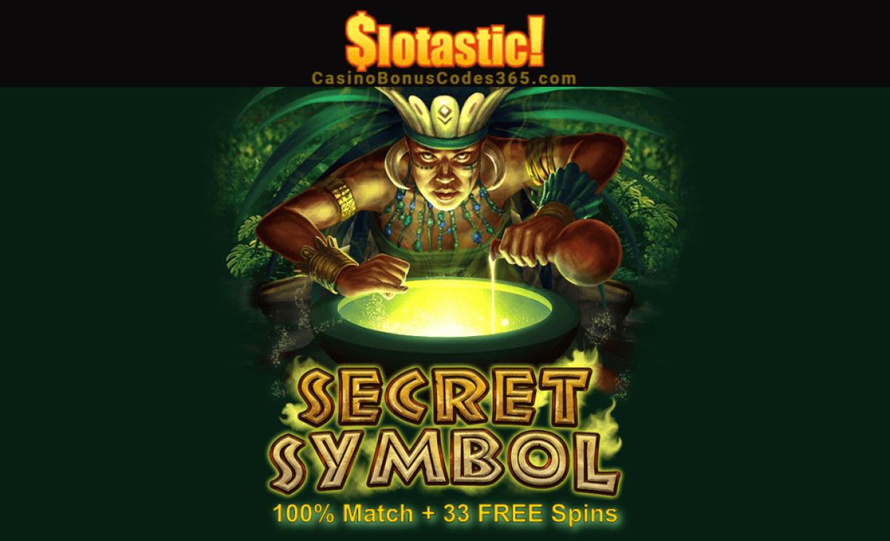 Slotastic Online Casino RTG Secret Symbol Weekly Bonus Boost