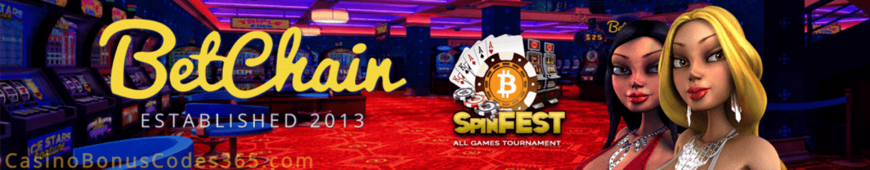 Betchain Casino Spin Fest Tournament
