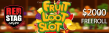 Red Stag Casino Gettin' Lucky in Kentucky $2000 FREEroll WGS Fruit Loot