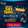 24VIP Casino 641 FREE Spins Scary Halloween Promo