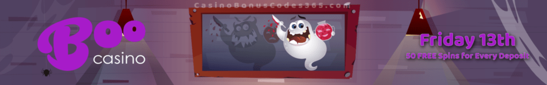 Boo Casino Friday the 13th 50 FREE Spins
