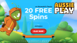 AussiePlay Casino 20 FREE RTG Mermaid's Pearls Spins Welcome Offer