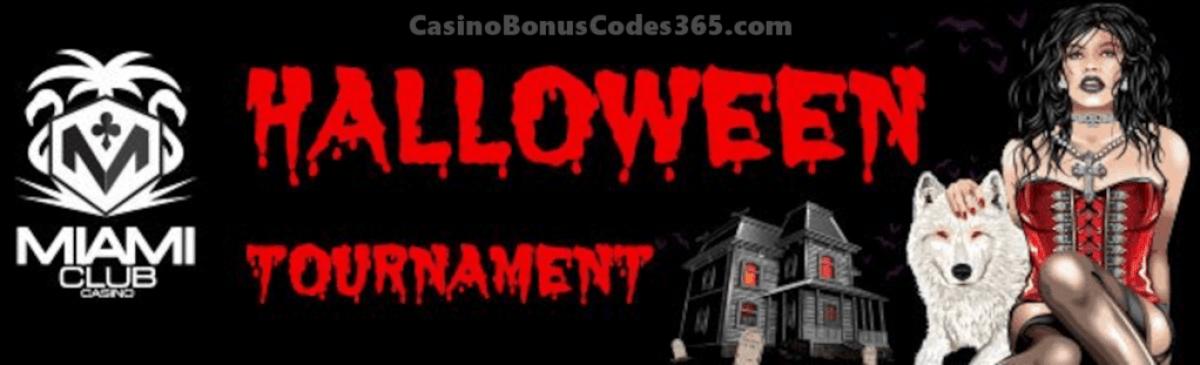 Miami Club Casino Halloween Marathon Tournament Scary Stuff Tournament