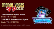 Grande Vegas Casino 150% up to $300 Bonus plus 25 FREE Spins on Snowmania Special Deposit Offer