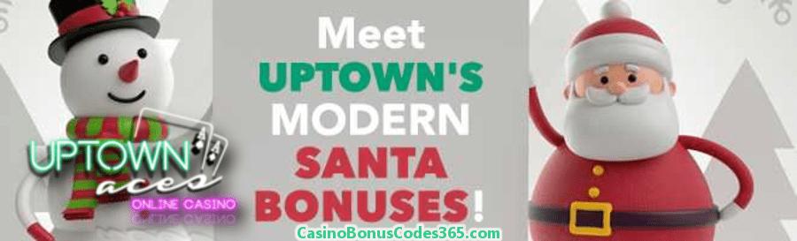 Uptown Aces December Modern Santa Bonus Pack