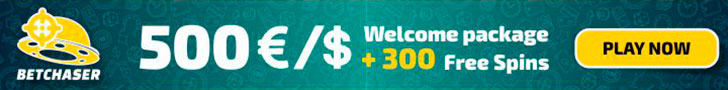 Betchaser 100% Match plus 100 FREE Spins Welcome Bonus