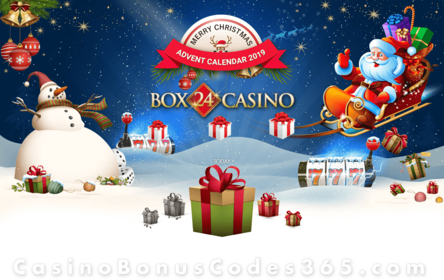 Box 24 Casino Advent Calendar 2019
