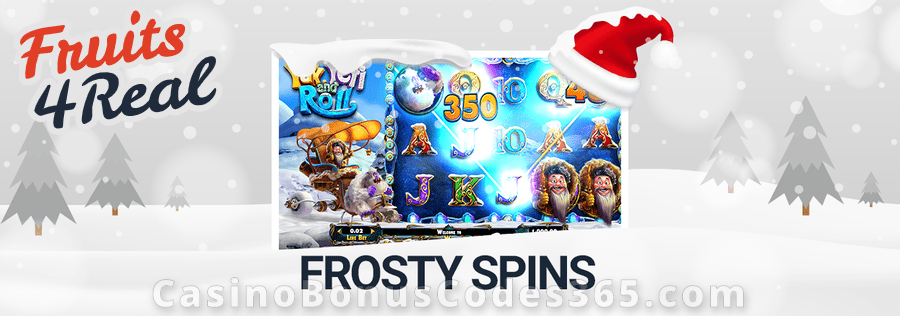 Fruits4Real Frosty Spins Bonus