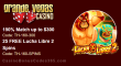 Grande Vegas Casino 150% up to $300 Bonus plus 25 FREE RTG Lucha Libre 2 Spins Special Deal