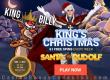 King Billy Casino December Slot of the Month NetEnt Santa vs Rudolph