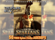 Treasure Mile Casino Exclusive 50 FREE Age of Spartans Spins No Deposit Deal