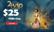 24VIP Casino $25 No Deposit FREE Chips Special Deal