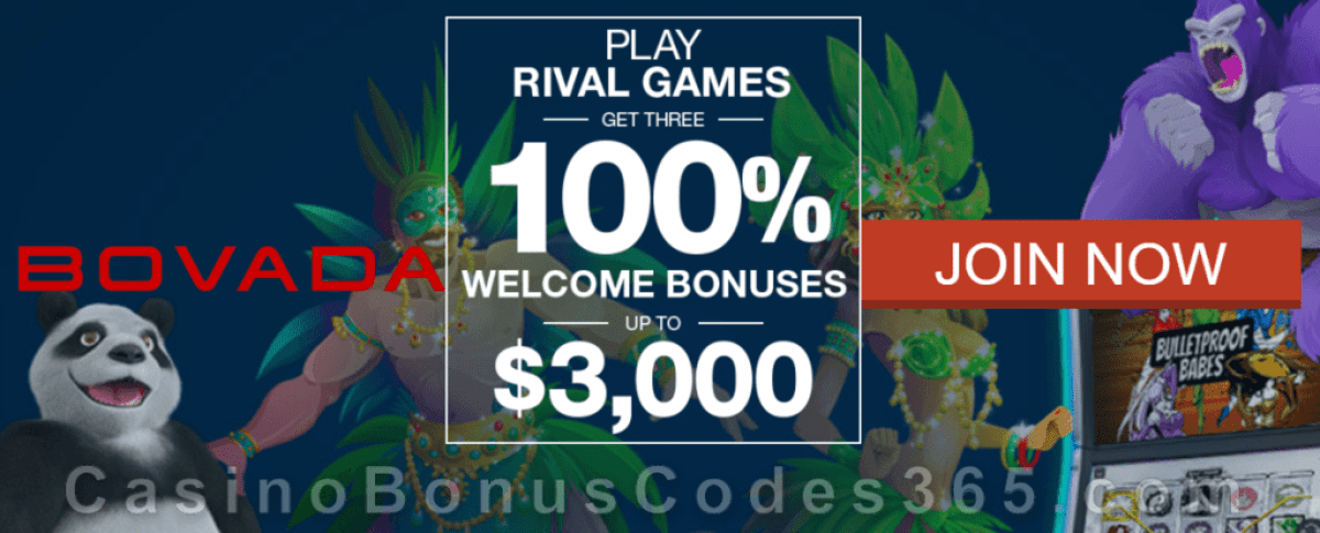 Online Casino At Bovada Casino Bonus Codes 365