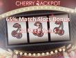 Cherry Jackpot 65% Slots Bonus plus 20 FREE RTG Sweet 16 Spins Offer