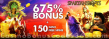 Spartan Slots 675% Match Bonus plus 150 FREE Spins on Top Welcome Package