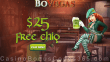 BoVegas Casino St. Patrick Day $25 FREE Chip Sign Up Offer