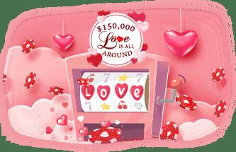 Intertops Casino Red $150000 Love is All Around